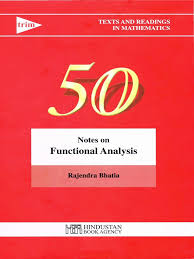 notes on functional analysis by rajendra bhatia basis linear