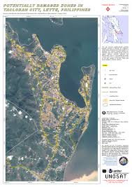 Google Maps Area 51 Potentially Damaged Zones In Tacloban City Leyte Philippines