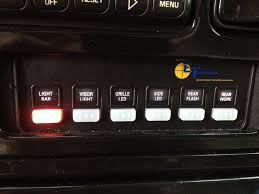 led light bar switch panel question led light bar mounting suggestions page 3 chevy truck
