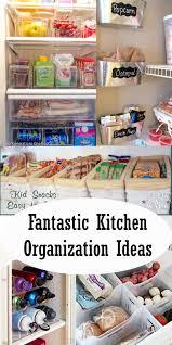 kitchen organization tips and ideas