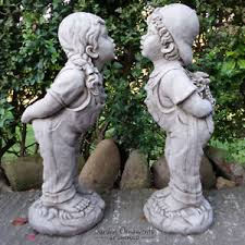 large and cast garden ornament statue