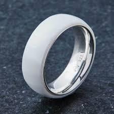 ceramic diamond rings images Embr white ceramic ring 925 sterling silver jpg