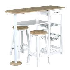 table cuisine haute table bar de cuisine avec rangement table cuisine avec rangement