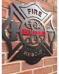 wooden maltese cross new savings on metal maltese cross firefighter monogram door