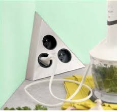 prise angle cuisine bloc 3 prises triangle achat vente de blocs prises électriques