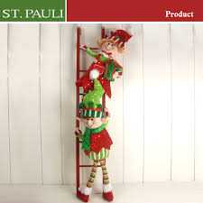 Decorative Christmas Tree Ladders by Climbing Ladder Elf Christmas Craft Climbing Ladder Elf Christmas