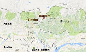 India Population Map by What Lies Behind Flare Up At India China Bhutan Junction Asia Times