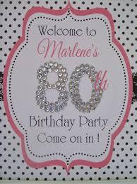 80th birthday party ideas 25 best 80th birthday ideas on 80 birthday