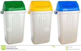 plastic trash cans with lids flip top outdoor plastic garbage cans