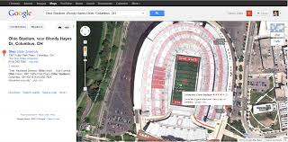 Ohio Stadium Map by The Ohio State Google Maps Is Pretty Awesome Lobshots