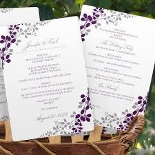 program fan template exquisite vines purple u0026 silver