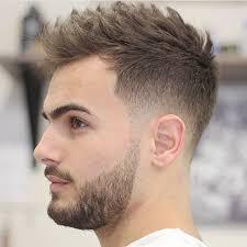 chic undercut men u0027s look beard styles pinterest undercut