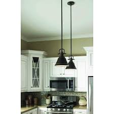 lowes mini pendant lights island lights from lowes allen roth 8 in w bronze mini pendant