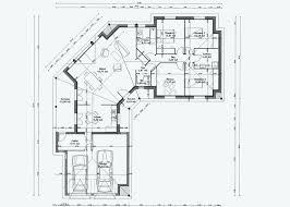 plan de maison de plain pied avec 4 chambres plan de maison plain pied 3 chambres avec garage nouveau plan maison