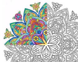 christmas mandala coloring ornaments printable
