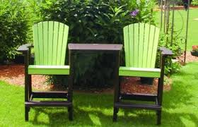 Lime Green Patio Furniture by Dress Up Your Patio With Our Perfect Choice Bar Height Adirondack
