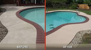 how to restore concrete patio enchanting how to repair concrete