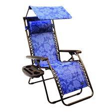 gravity free recliner chair w canopy u0026 tray bliss hammocks