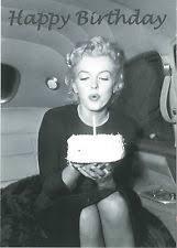 happy birthday sprüche für männer postkarte a6 lustig happy birthday marilyn ebay