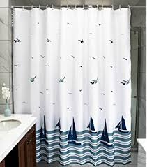 Curtains With Hooks Amazon Com Mooxury Mildew Resistant Shower Curtain Liner With