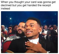 Rapper Memes - chance the rapper bet awards reaction know your meme