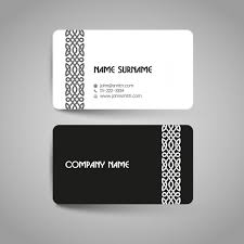 Business Card Design Psd File Free Download Business Card Design Vector Free Download