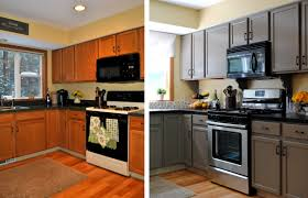 small kitchen makeovers before and after outofhome
