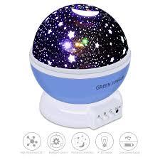 amazon com star night light green jungle light projector for