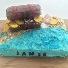 treasure chest cake u2013 easy be a fun mum