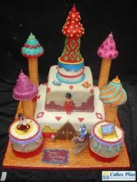 tropical waterfall birthday cake strawberry cake vanilla