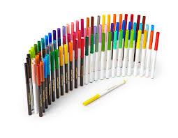 amazon com crayola supertips washable markers 80 count set