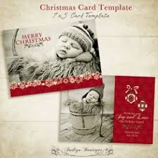 christmas card templates bundle 02 5x7 inch by indigoboutique