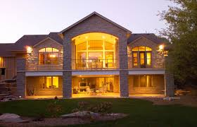 slope house plans with bat walkout planskill 11 cool contemporary