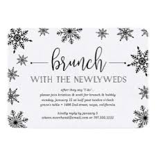 post wedding brunch invitations announcements zazzle