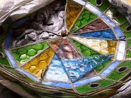 colorful l shades handmade colorful stained glass hanging l shades restoration