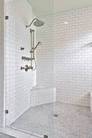 Bathroom Tiled Showers Ideas Best 25 White Subway Tile Shower Ideas On Pinterest White