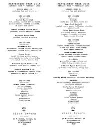 52 states of america list chicago restaurant week 2015 dineamic group