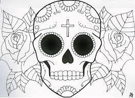 sugar skull design by maddyfield on deviantart