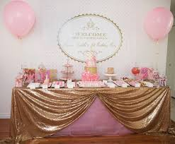 gorgeous pink u0026 gold 1st birthday party susy martinez