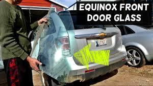 front door glass inserts replacement chevrolet equinox front door side glass removal replacement