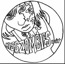 surprising creepy zombie coloring pages zombie coloring pages