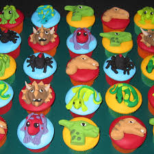 dinosaurs frogs and snakes reptile cupcakes x 12 that u0027s my cake