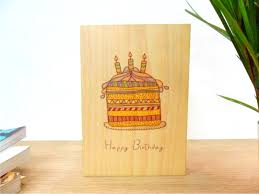 print greeting cards wooden greeting cards microwood