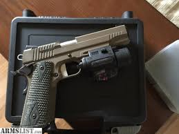 sig sauer laser light combo armslist for sale sig sauer 1911 scorpion fde with insight m6