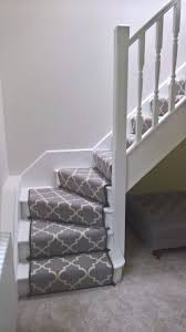 Stairs Hallway Ideas by Striped Carpet On Stairs Around Corners Decorating Pinterest