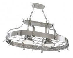 kitchen island pot rack lighting foter