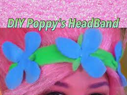 s headband diy trolls poppy headband