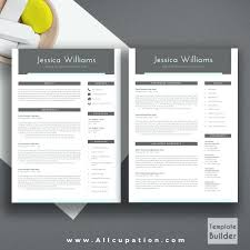2 page resume template 2 page resume format sle modern resume template cover letter