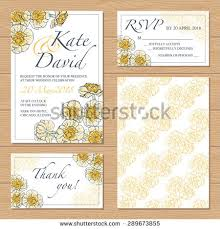 wedding backdrop design vector vector wedding set templates your design stock vector 289673855