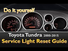 how to reset maintenance light on toyota tundra 2011 toyota tundra 2005 2015 service light reset guide youtube